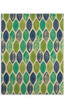 L'Oro de Bombay-6 hojasSurtido27,8x21,6cm - vert/azul/Oro