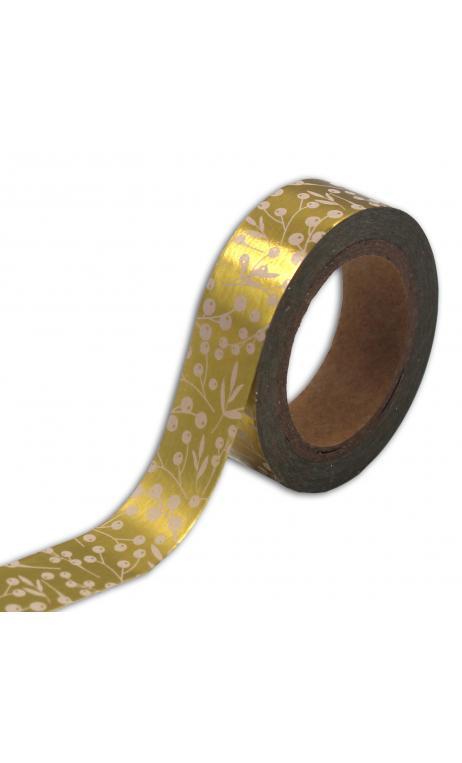 Masking tape Bombay Bayas or - 10m