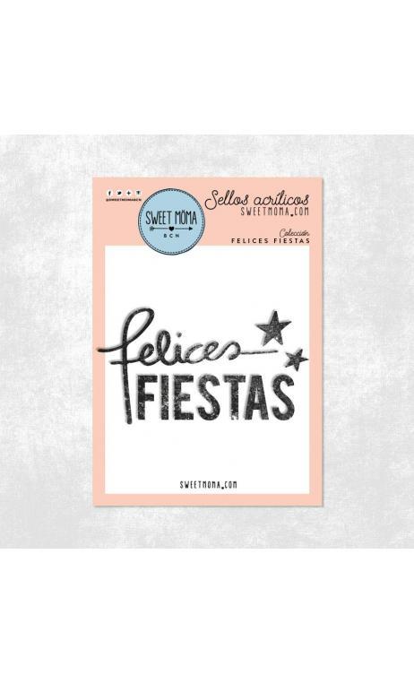 Sellos- Felices Fiestas (5x7cm)