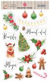 """Stickers Transparentes """"Joy"""" 2 hojas A5 Pega Papel o Tijeras"""