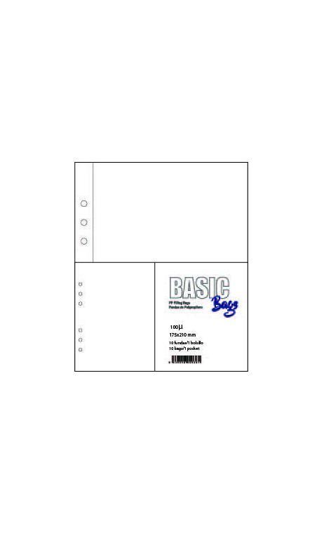FUNDA PLASTICO A5 1 BOLSA 174*210mm 10 u.