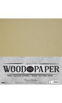 Wood White Paper de Alberto Juárez 30,5x30,5  1 hojas 250 grs.(6u. pack)