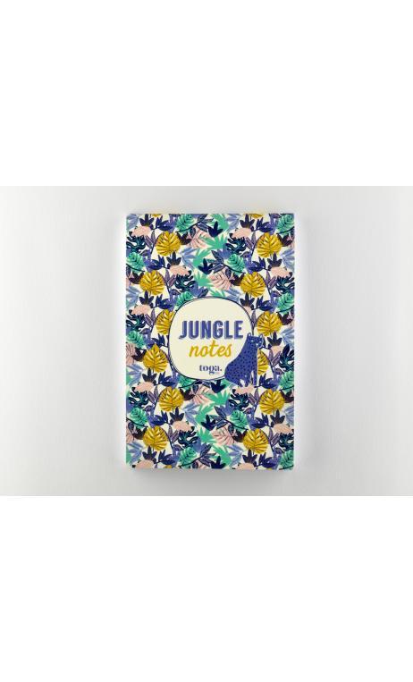 Cuaderno Jungle Vibes 100 páginas 12x17