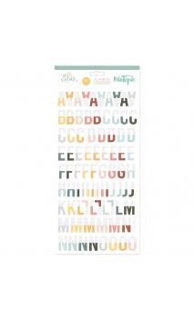 Chipboard alphabet To fly