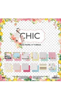 """Colección """"CHIC"""" - 12 Hojas /PAD 30,5x30X5"""