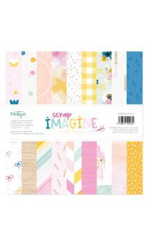 "Papeles 12 x 12"" Imagine"