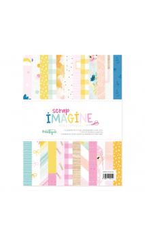 "Papeles 6x6"" Imagine"