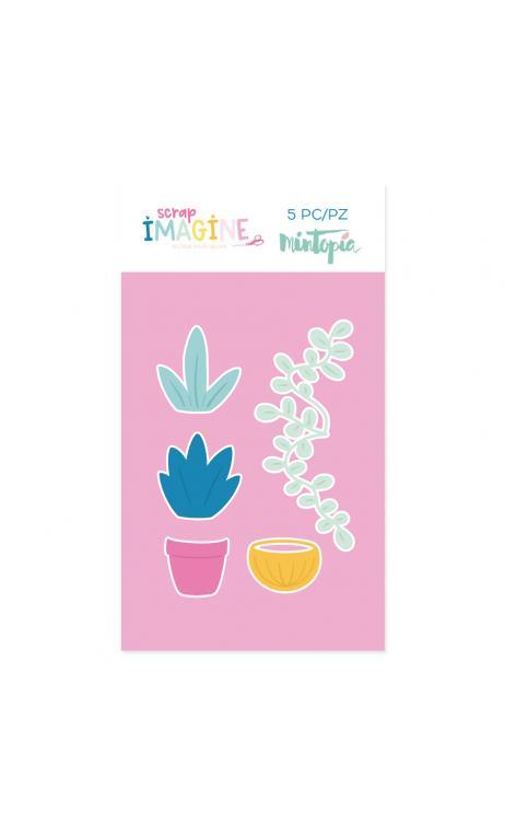 Troquel  Plantas
