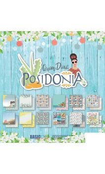 Colección POSIDONIA 12 Hojas /PAD 30,5x30X5cm