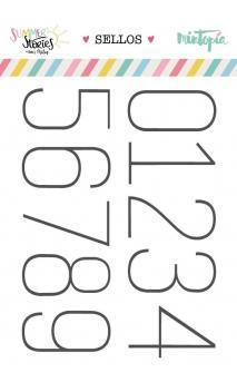 Set de sellos Números