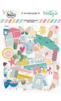 Die cuts ilustraciones Summer Stories