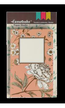 Elegante Set 2 Cuadernos Cosidos Liso y Punteado 60 páginas 90x140mm