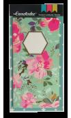 FloralSet 2 Cuadernos Cosidos Liso y Punteado 60 páginas 110x210mm