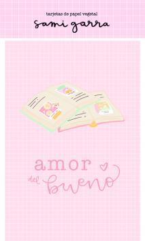 Vellum card - Colección Lazos