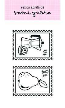 Sellos Postales- Colección Lazos
