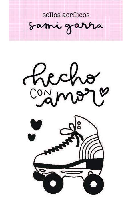Sello Hechos con Amor- Colección Lazos