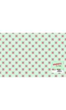 1 hoja de falso cuero impreso Wonderful 50x33 cm