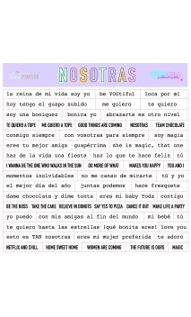 NOSOTRAS  Stickers