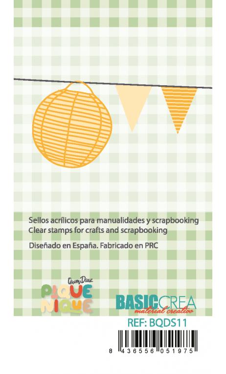 PIQUE-NIQUE  Clear Stamps