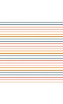 Tela de encuadernar Wilma Moon Rayas de colores
