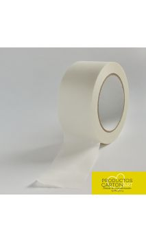 Cinta Adhesiva kraft Blanco