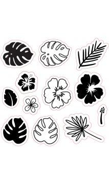 Sello Aloha Tropical