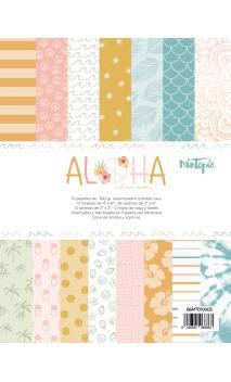 Pad 6x8 tarjetas Aloha