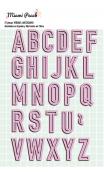 Die abecedario MIAMI PEACH