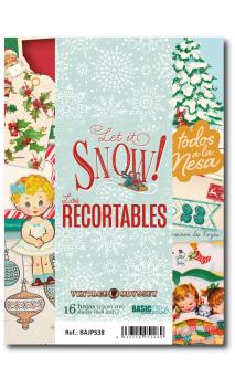 Recortables A5 Let it snow