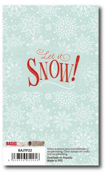 Sello Let it snow