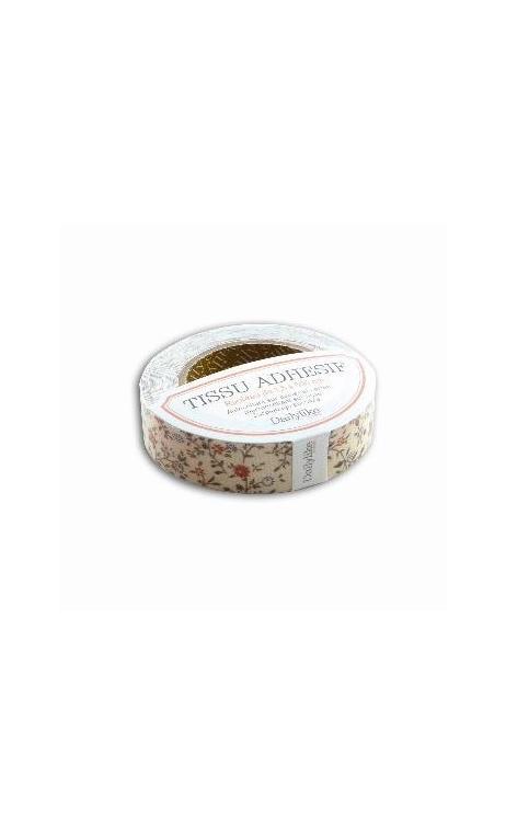 tela adhesiva cinta 5m - ivoire Flor.