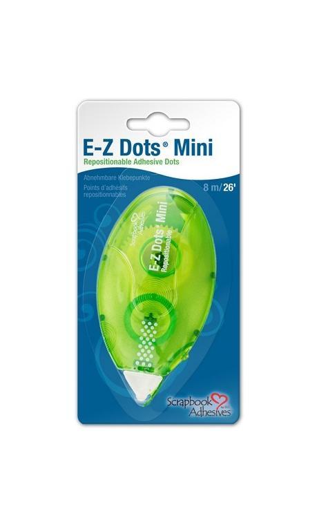 AC74 E-Z Dots Mini Reposicionable Adhesive dots