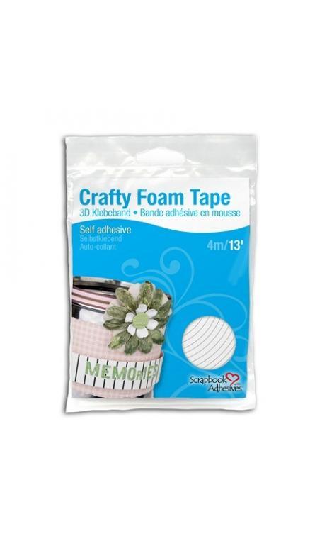 Crafty Foam Tape cinta adhesiva de espuma 3D