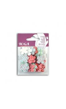Surtido 25 confetis florecilla