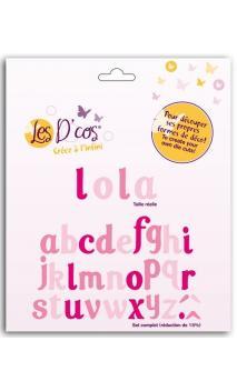 D'cos® Alfabeto Lola (10 dies)