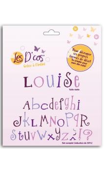D'cos® Alfabeto Louise (15 dies)