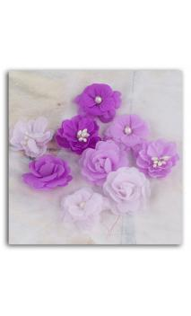 Surtido de 9 flores Prima Lady godivas grape ice violet
