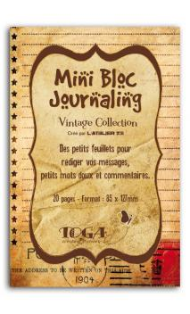 Mini bloc journaling  Vintage