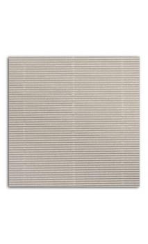 Mahé 30x30   - Ondulado plata 10 hojas - Pack 10 h.