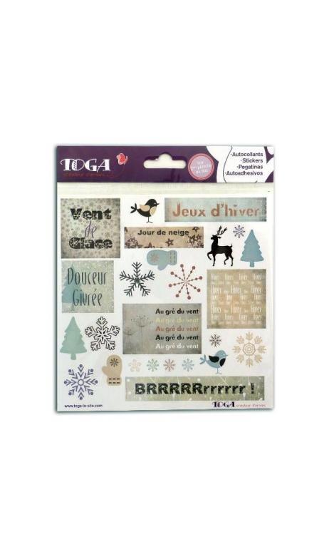 stickers Estrella d'Hiver 15x15