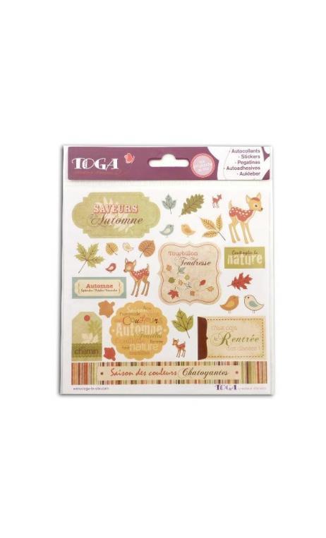 stickers 15x15 Automne