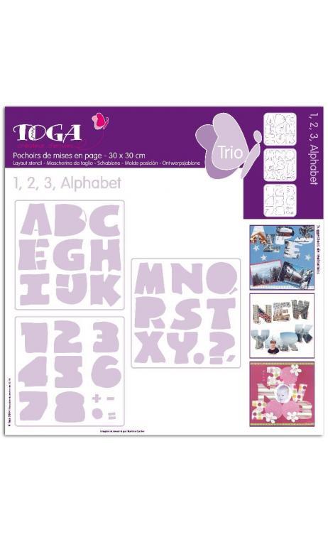 123 Alfabetoet (3 Plantillas)