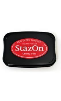 StazOn - Cherry Pink/rojo Framboise