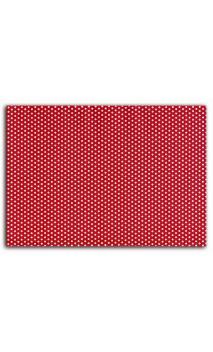 Tela adhesiva A4 - Red ribbon - dot