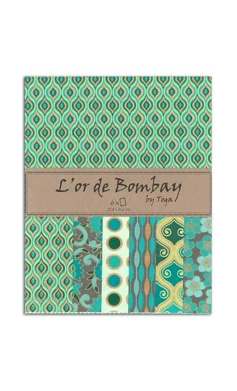 L'OR DE BOMBAY - TURQUOISE, VERDE & OR
