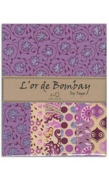 L'or de bombay - violeta, oro ykraft