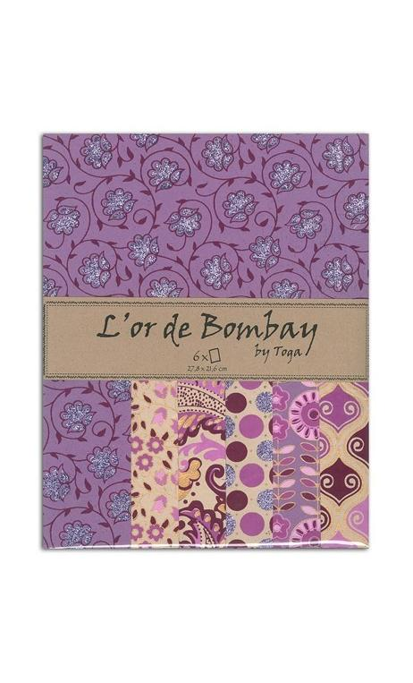 L'OR DE BOMBAY - VIOLETA, OR ET KRAFT