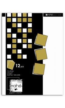P'tit bloc Mahé couleur or 15x20 28f.