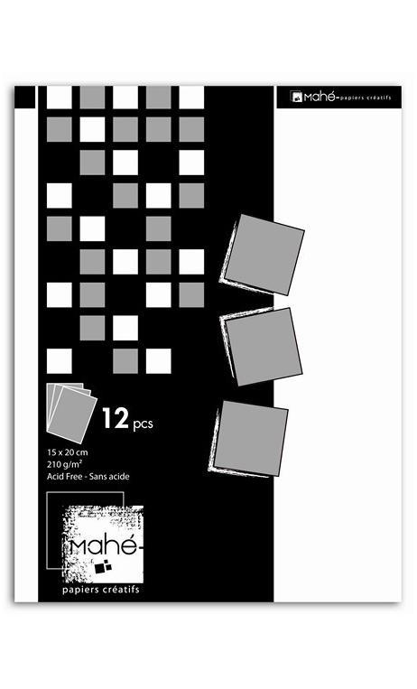 P'tit bloc Mahé couleur argent 15x20 28f.
