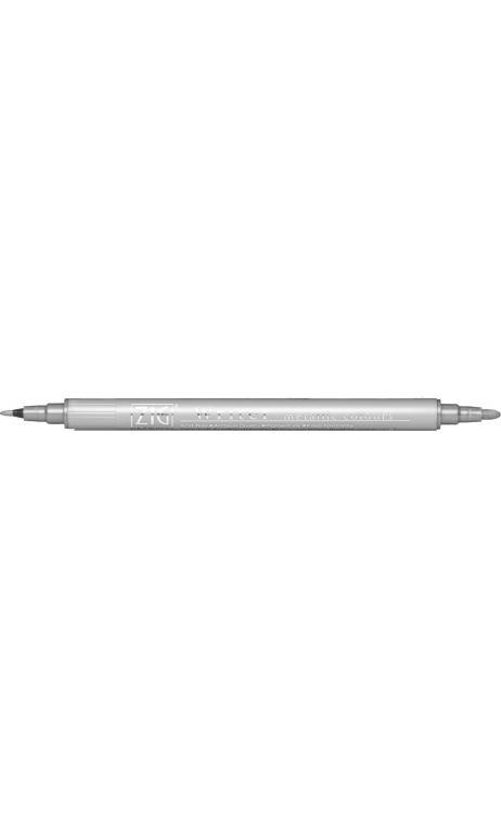 Rotulador Plata doble punta 1mm et 1,2mm